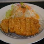 金立サービスエリア(上り線)レストラン - トンカツ