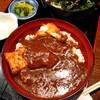 酉の市 - 料理写真:チキンカツカレー(うどん付)750円