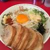 ラーメン英二 - 料理写真:【2016.9.15】『汁なしブタ追加』¥1030