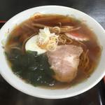 長寿庵 - 料理写真:「ラーメン」500円