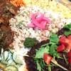 クヮッチースパイス ユクル - 料理写真:彩り鮮やか チャンプルカレー!