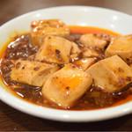 56438329 - 定食セットの麻婆豆腐。あくまでオプションな量。