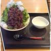 叶 匠寿庵 - 料理写真:氷室守(抹茶あずき)〜かき氷レビュー111件目〜