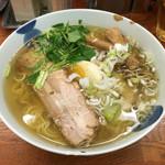 麺屋 ひょっとこ - 「和風柚子柳麺」730円
