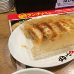 とりの助 - 白ご飯餃子ランチ