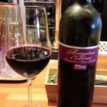 炭焼きビストロ楽 - グラスワイン赤