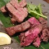 遊庵 - 料理写真:特選和牛 A5ランク サーロインステーキ & 厚切り牛タンステーキ
