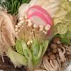 甲州屋 - 料理写真:野菜いっぱいにうどんもありました