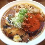 56476053 - 辛口炙り肉ソバ 醤油