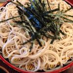 長寿庵 - 蕎麦 海苔が嬉しい