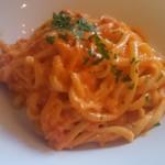 56481678 - ズワイガニとリコッタチーズのトマトクリームソース
