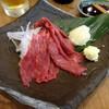 肉汁餃子製作所 ダンダダン酒場 - 料理写真:「馬刺(赤身)」650円也。