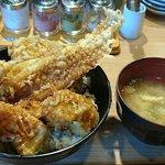 やまみ - やまみ 木場店 穴子海鮮天丼 税込1,100円