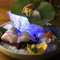 鮮魚の刺身盛合せ(二人前より)