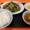 大島飯店 - 料理写真:ニラレバ定食