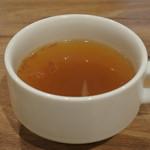 ジャクソンファーム&グリル - Aセットのスープ