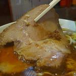 自家製麺中華そば 今里 - ガシ豚チャーシューが白眉(2016年9月24日)
