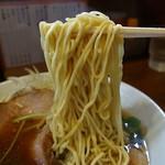 自家製麺中華そば 今里 - キモの自家製細麺(2016年9月24日)