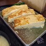 玉子焼 おざわ - 「玉子焼御膳」 ごはん、みそ汁付き 1,300円 玉子焼おざわ