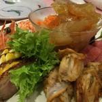 蘇州 - コースの前菜