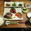 柚子 - 料理写真:これは、刺身盛り合わせ定食 1200円.