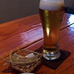 山道 - 生ビール、中