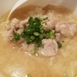 十七番地 - 鶏スープめし 2016.9