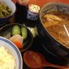 草春庵 - 料理写真:サービスランチ{粗挽き蕎麦](800円)を頂きました。