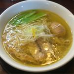 麺の風 祥気 - 料理写真:2016/09/25 しおそば 730円