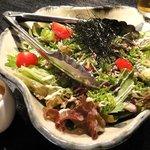 大人輝 - 大人輝コース【秋のサラダ】4人分 ・戻りカツオの叩きサラダ ポン酢ドレッシング