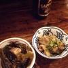 ばんや - 料理写真:ばんや@本八戸 あがめ煮と身欠きにしん、いかのごろ煮(お通し)