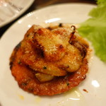 ブラッスリー ブー - 香ばしい魚介のパン粉焼き
