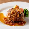 フュージョンダイニング エフ - 料理写真:オニオンソースのハンバーグ