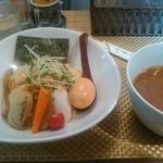 麺屋 波 - 中(200g)細麺