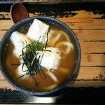 山元麺蔵 - 揚げ餅うどん