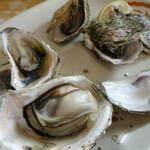 陳家蚵捲 - 焼き牡蠣(100元)