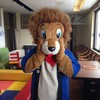 ロイン亭 - その他写真:ライオンのアサヒ君♪