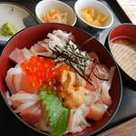 かねまつ - 特丼 1000円