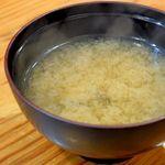 天銀 - しじみの味噌汁