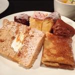布田3丁目 Luida Riche - ガトーショコラ・チーズケーキ・チョコムース・紅茶シフォン・塩キャラメルクレープ