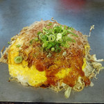高砂○ - 肉玉そば+イカ天