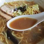 喰い呑み座 新山 - 濃厚でコクのあるスープ