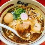 総大醤 - 黒大醤(醤油)+半熟味付け玉子