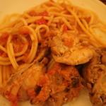 トラットリア 星のイタリコ - 兎の煮込み肉