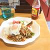 ラウンジ エバー - 料理写真:ガパオ風チキンライス