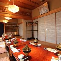 カウンター・座敷・テーブルなど…最大50名様までの宴会も可能