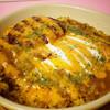 Loin's - 料理写真:焼きカレーミニバーグのせ