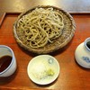 賀久 - 料理写真:玄びき蕎麦(800円)