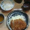 とんかつ衣浦 - 料理写真:ロースかつ定食