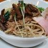 竹末東京プレミアム - 料理写真:サンマとイカのまぜそば 900円